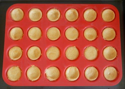 crustless cheesecake muffins baked
