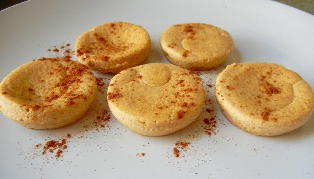 crustless cheesecake muffins final